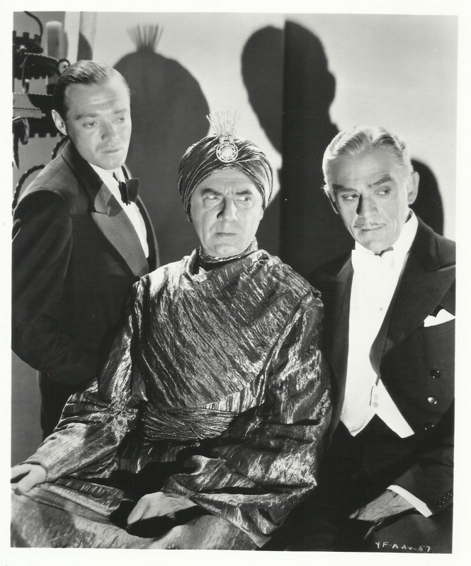"Peter Lorre, Bela Lugosi, and Boris Karloff in ""You'll Find Out"", 1940"