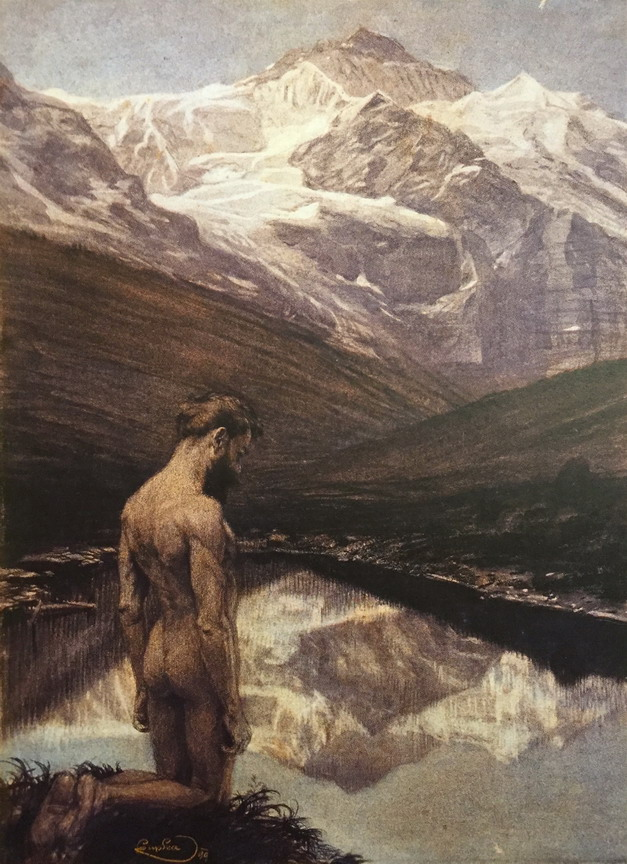 """Meditation"" by Frantisek Kupka, 1869"