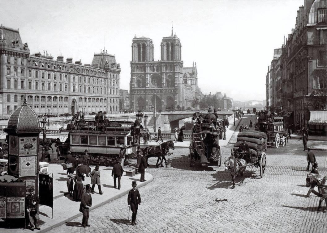 Paris, circa 1900