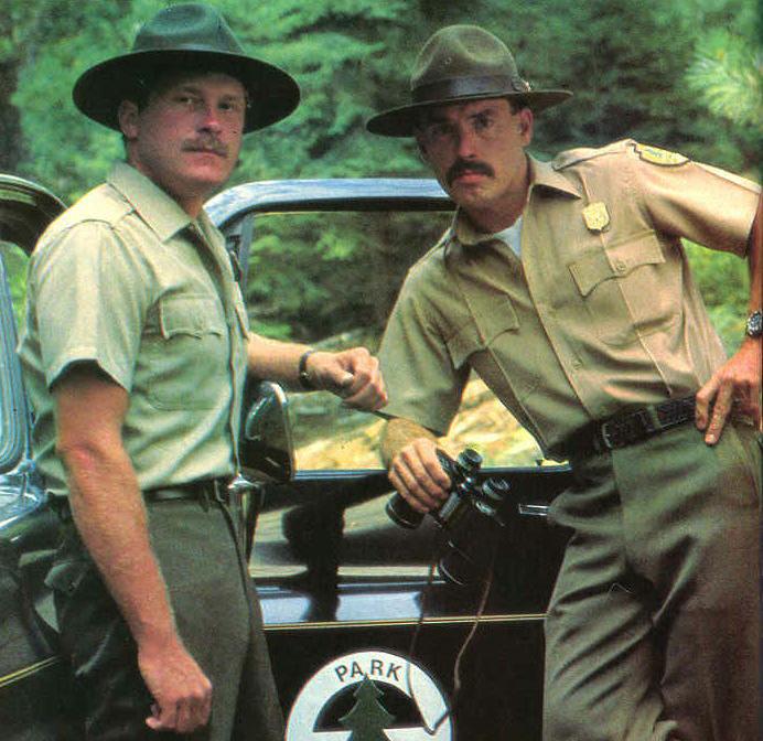 Mustachioed Park Rangers