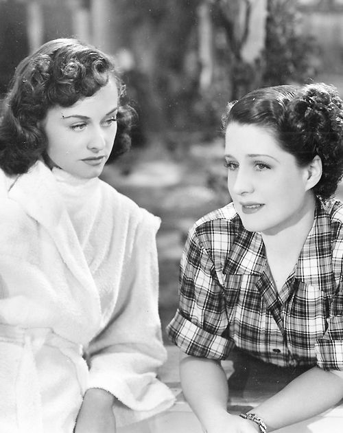 "Paulette Goddard and Norma Shearer in ""The Woman"", 1939"