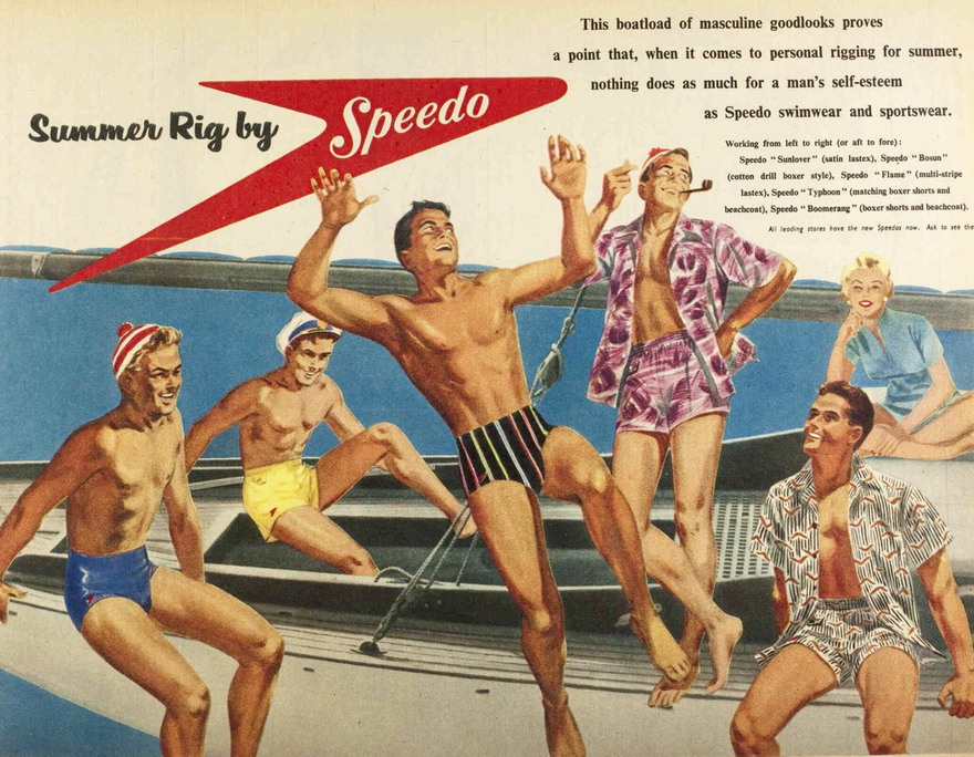 Speedo, 1950s