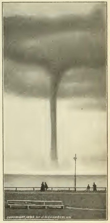 Waterspout, Massachusetts, 1896