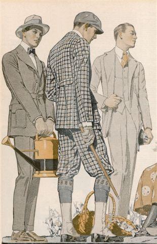 Men's Fashions, 1910s