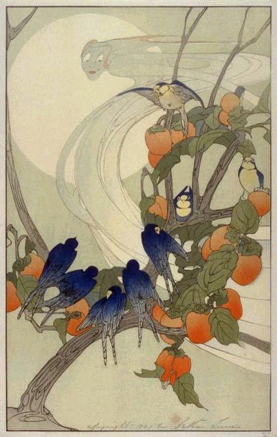 Late Art Nouveau, Bertha Lum, 1920