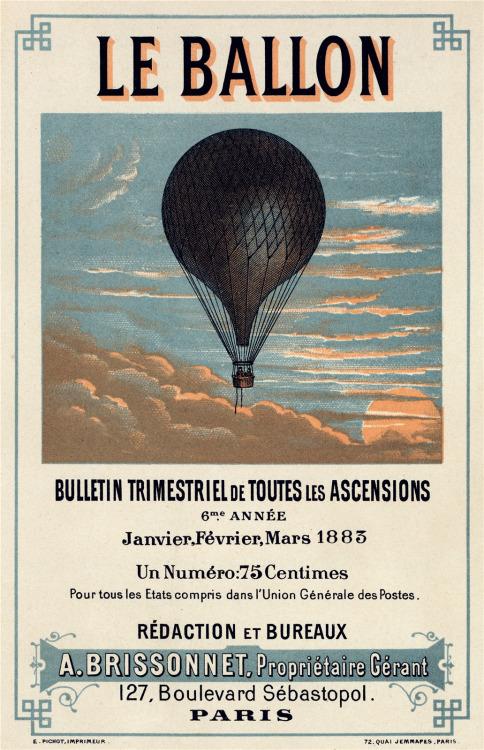 Le Ballon, 1883