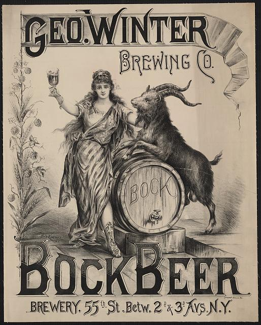Bock Beer, 1800s