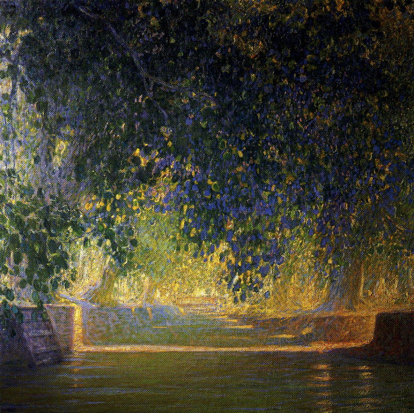 Canale a Bangkok par Galileo Chini,1912-13