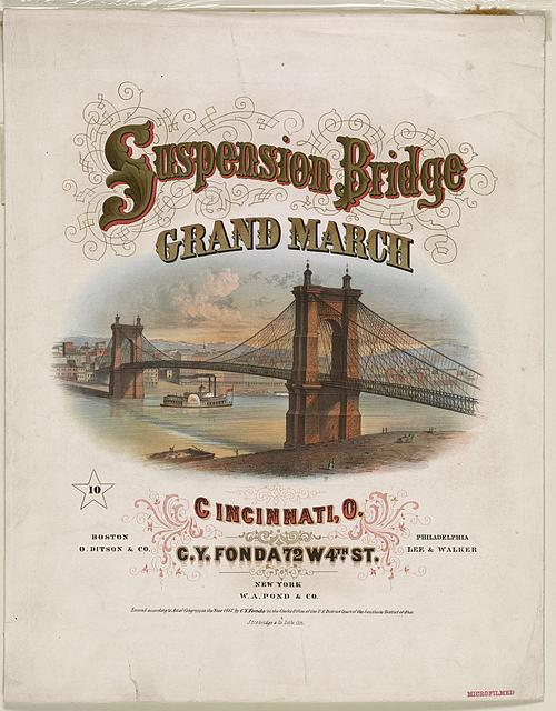 The Cincinnati Suspension Bridge March