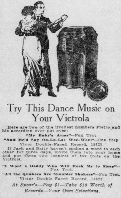 Dancing to your Victrola