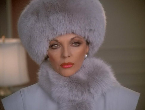"Joan Collins in ""Dynasty"", 1980s"
