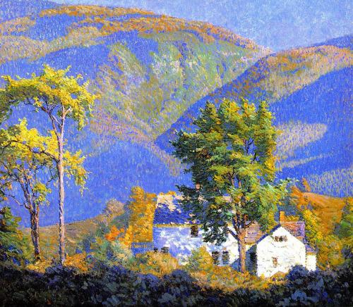 """The Gorge"" by George Noyes,British"