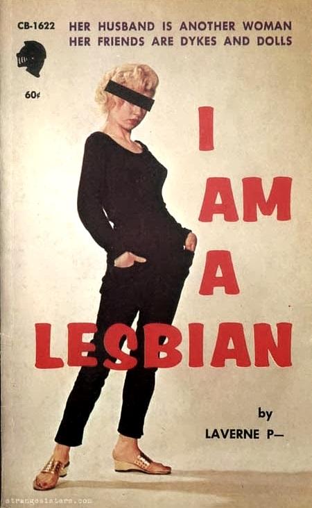 """""""I am aLesbian"""""""