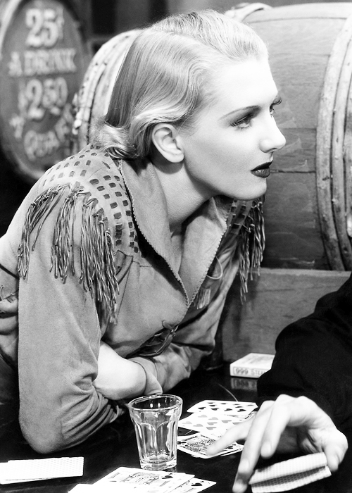 Jean Arthur in some western