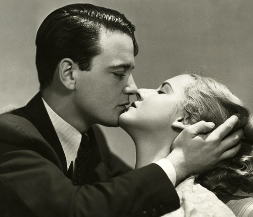 "Lew Ayres and Mae Clarke promo shot for ""Impatient Maiden"", 1932"