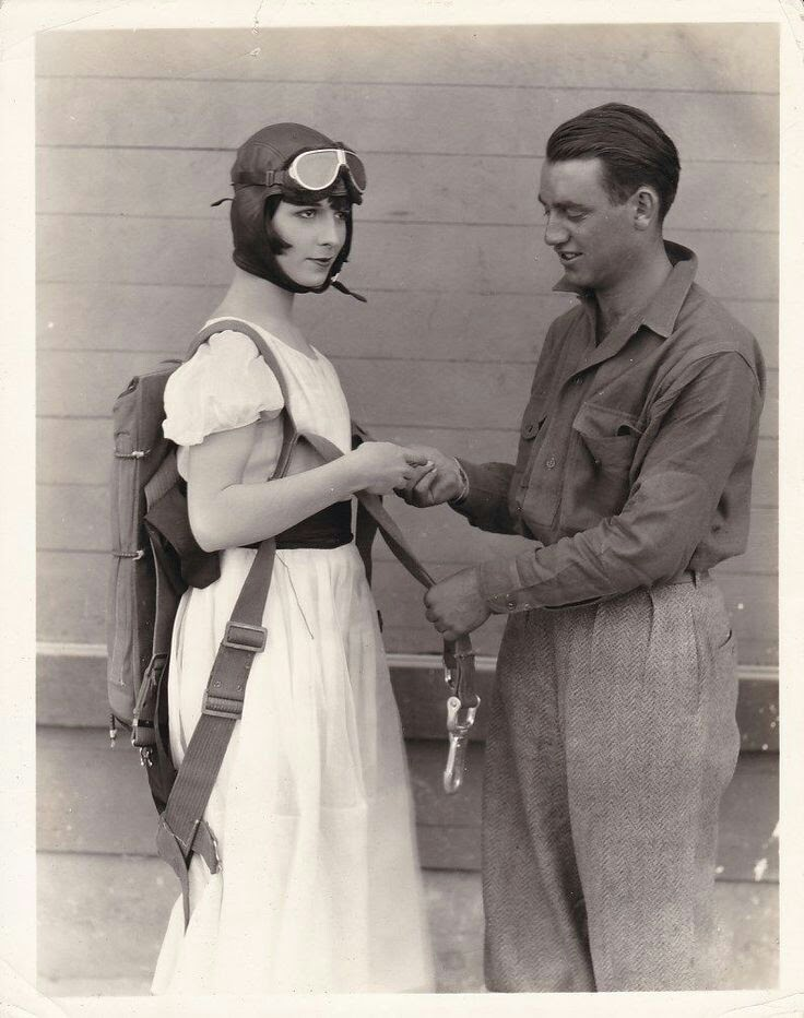 """Louise Brooks in """"Now We're in the Air"""",1927"""