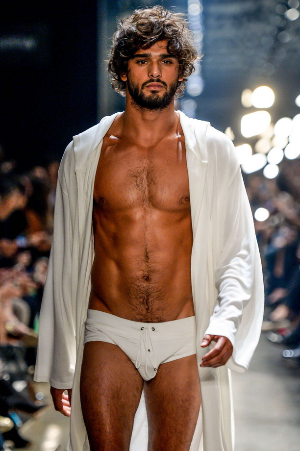 Brazilian model Marlon Texeira