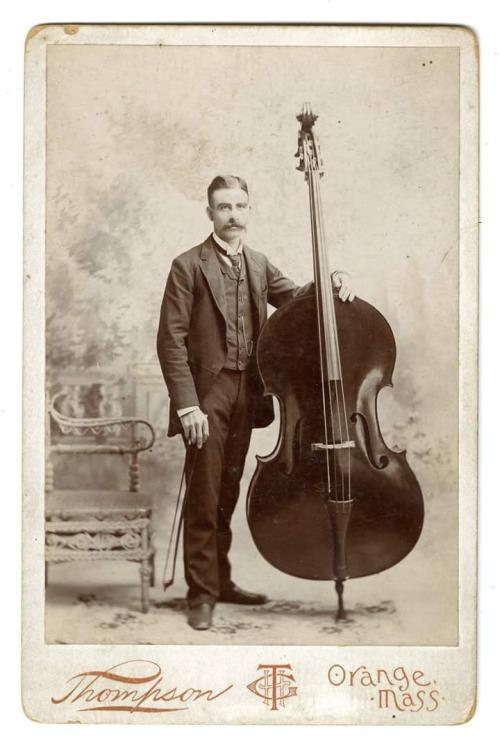 Mustachioed Musician