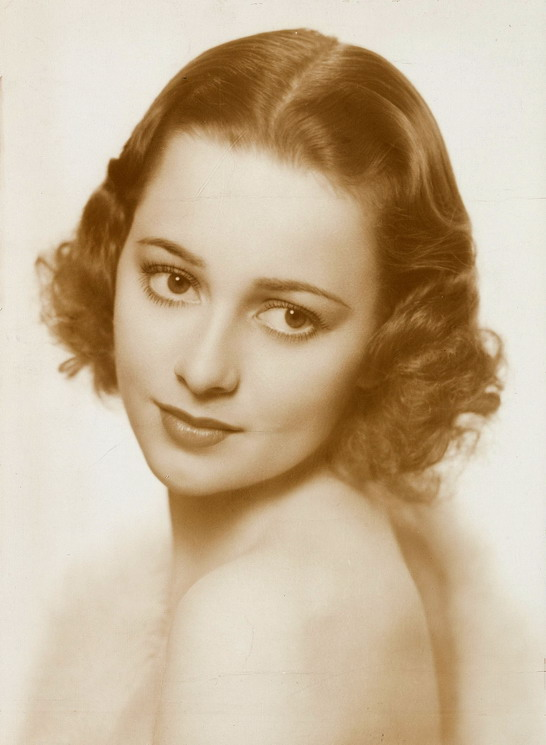 Young Olivia DeHaviland, early 1930s