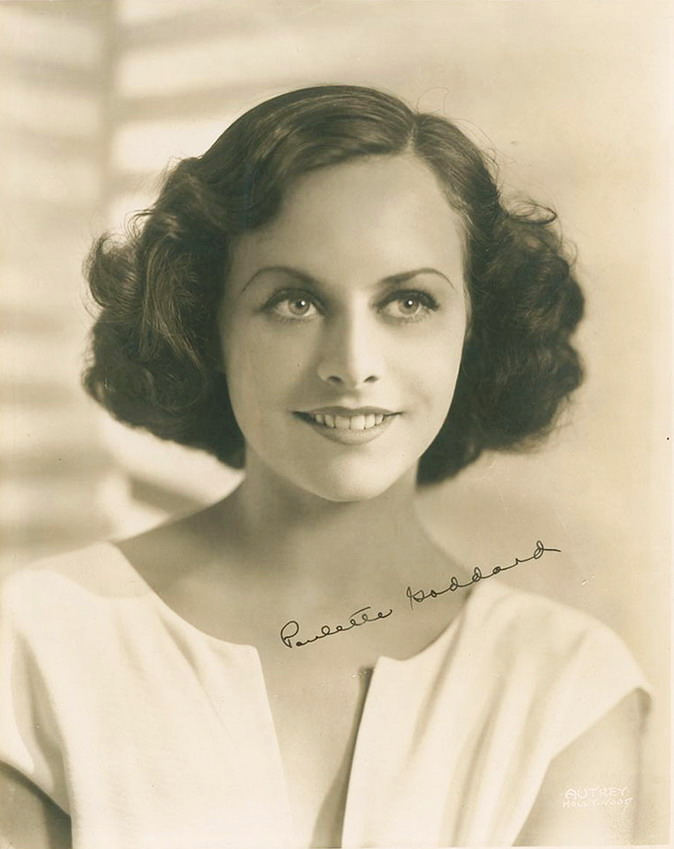 Young Paulette Goddard, early1930s