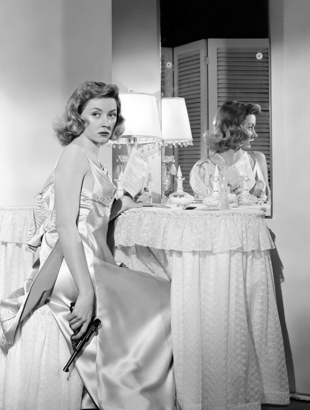 Peggy Cummings – turns out it's actually Gloria Grahme
