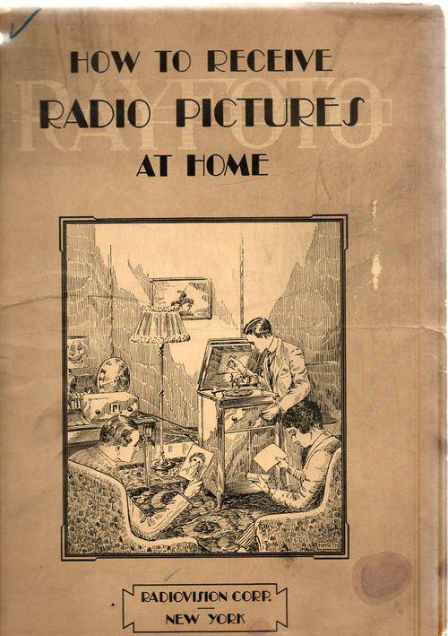 How to Receive Radio Pictures At Home,RCA