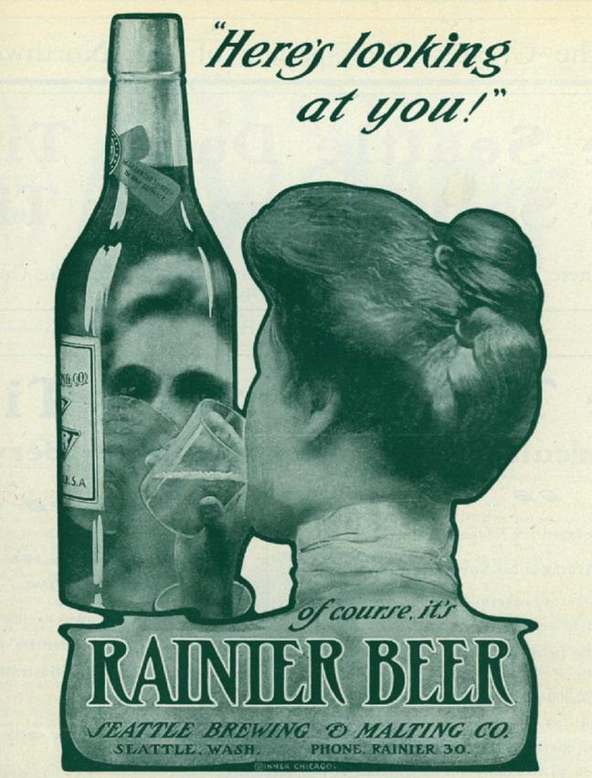 Rainier Beer, circa1900