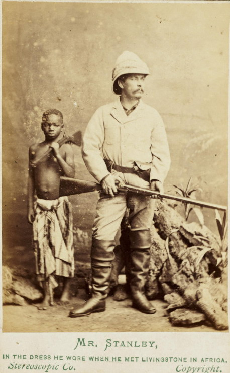 Mr. Stanley, in the attire he wore when he met Mr. Livingstone inAfrica