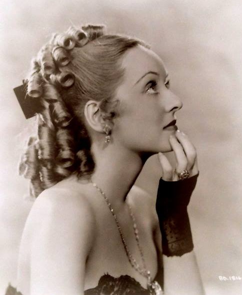 "Bette Davis as ""Jezebel"""