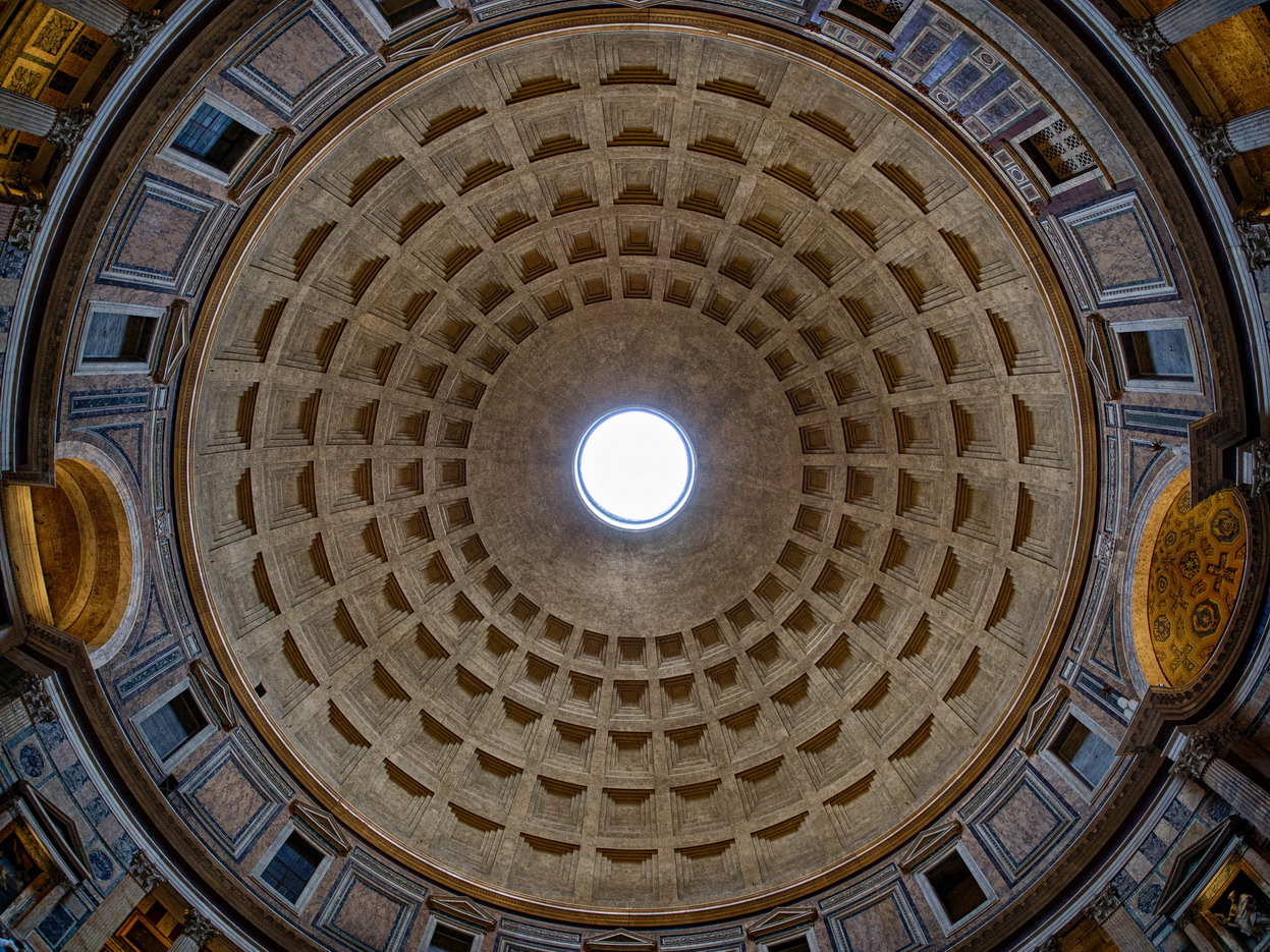 Dome of the Pantheon,Rome