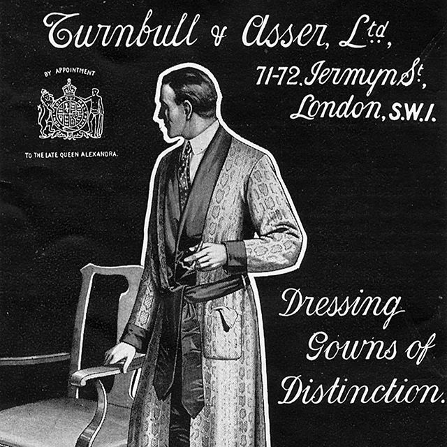 Dressing Gowns of Distinction, Turnbull & Asser Ltd., London
