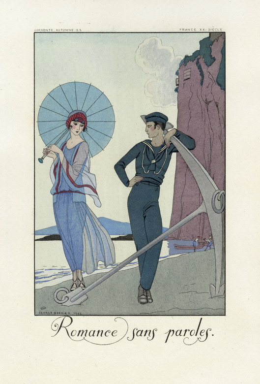 Romance Sans Paroles, par George Barbier
