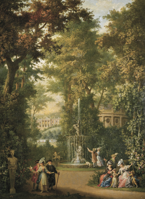 """Jardin Prado"" by Giovanni Battista Colombo"