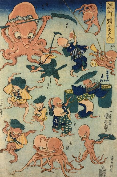 Japanese Art, Ichiyusai Kuniyoshi,1842