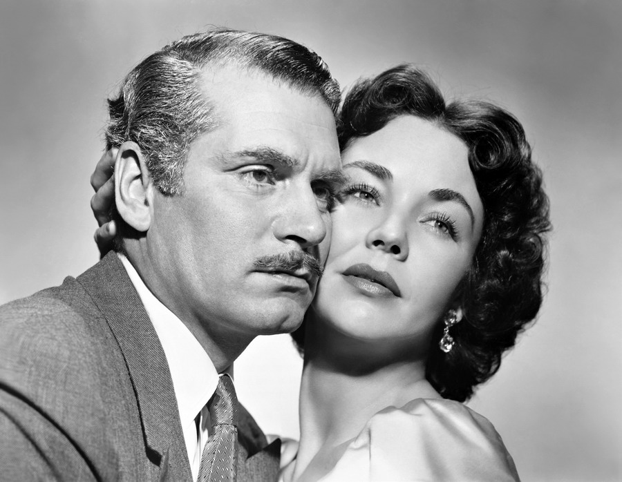 Laurence Olivier and Jennifer Jones