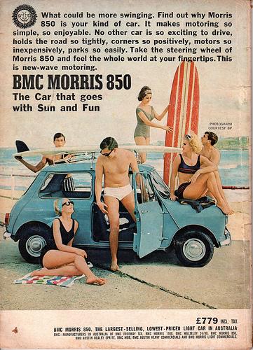 Minicar: BMC Morris850