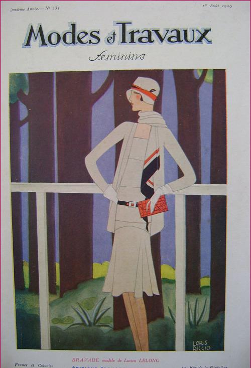Modes et Travaux Feminins,1929