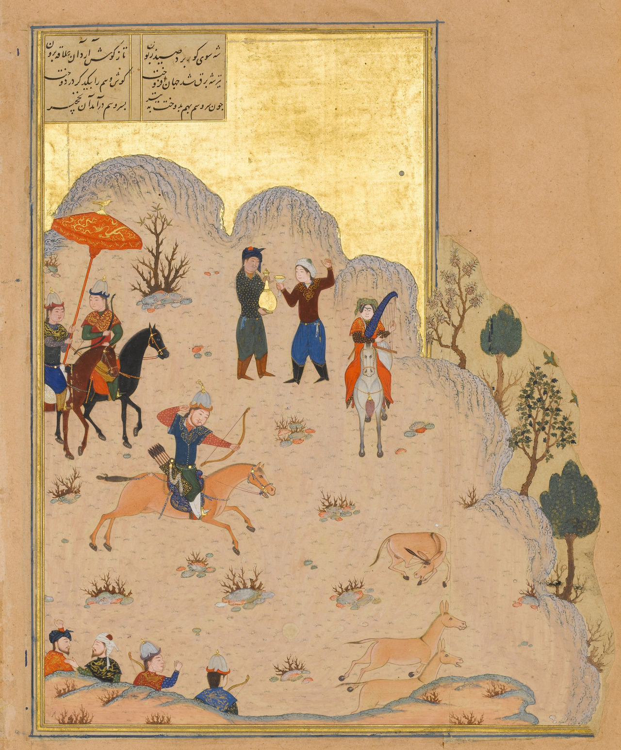 Ancient hunters (Persian?)
