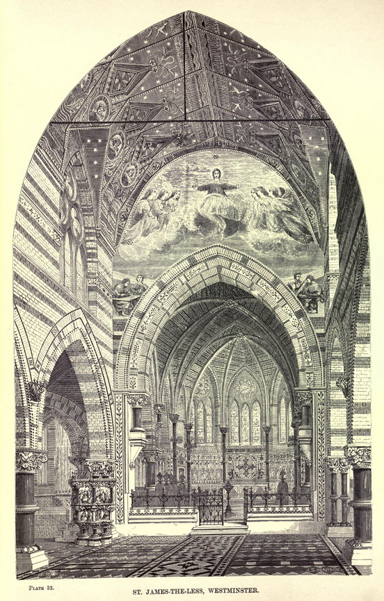 Chapel of St. James-The-Less, Westminster, London