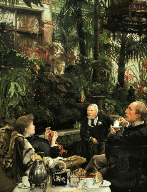 """Rivals"" by James Tissot"