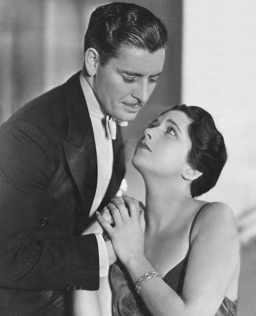 Ronald Coleman and Kay Francis, 1930