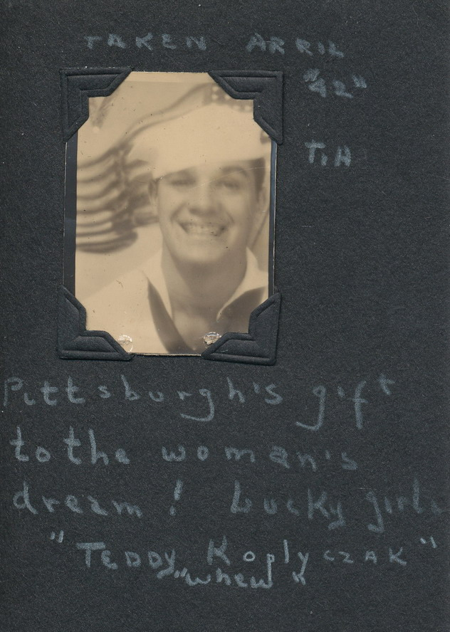 "WWII American Sailor: ""Pittsburgh's Gift to the Woman's Dream"", 1942"