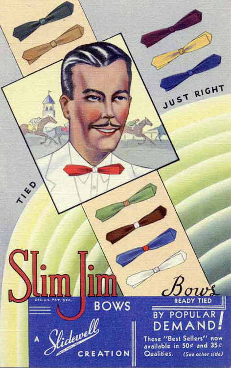 Slim Jim Bow Ties