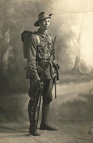 Australian soldier, 1917