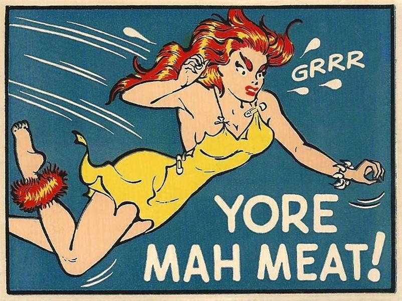 Yore Mah Meat!
