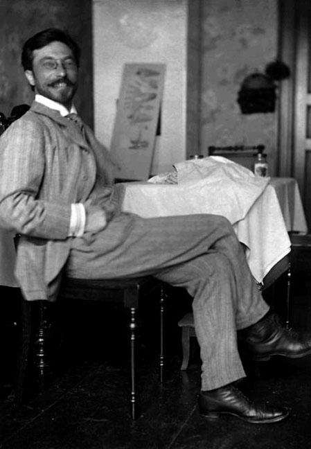 Artist Wassily Kandinsky, circa1905