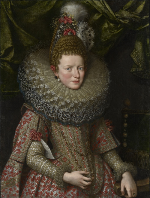 Frans Pourbus the Younger's painting of Margherita Gonzaga, Duchess of Lorraine, 1606