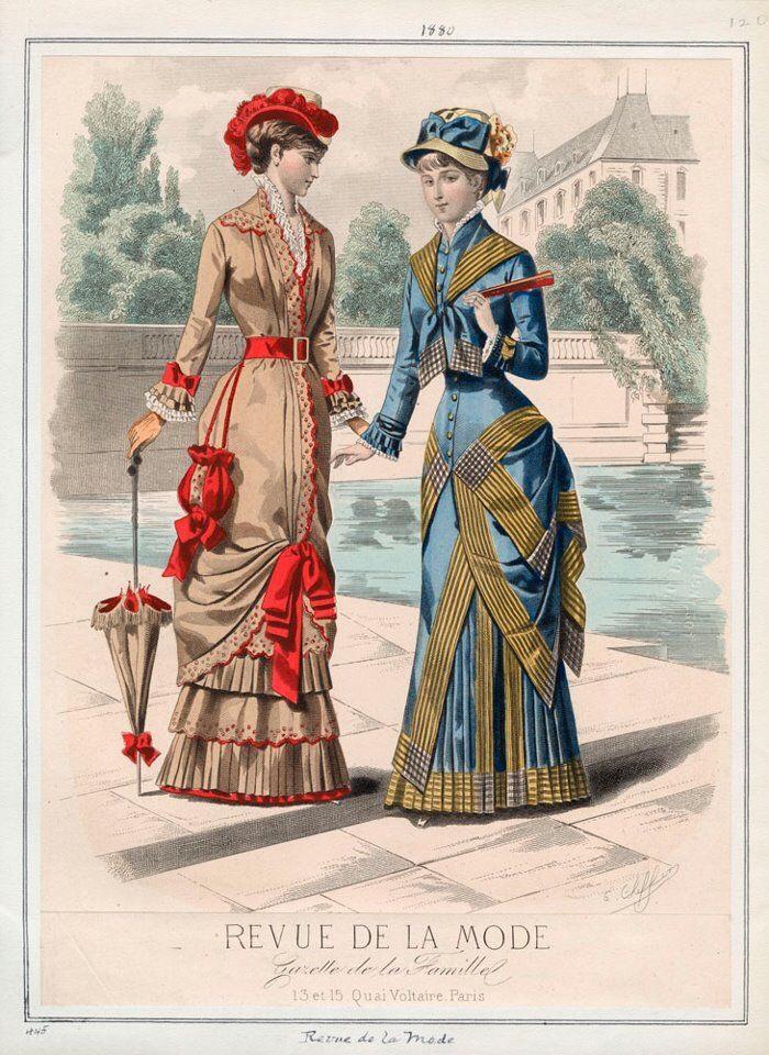 Revue de la Mode, Paris,1880