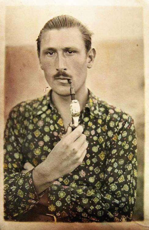 Romanian man, circa1940