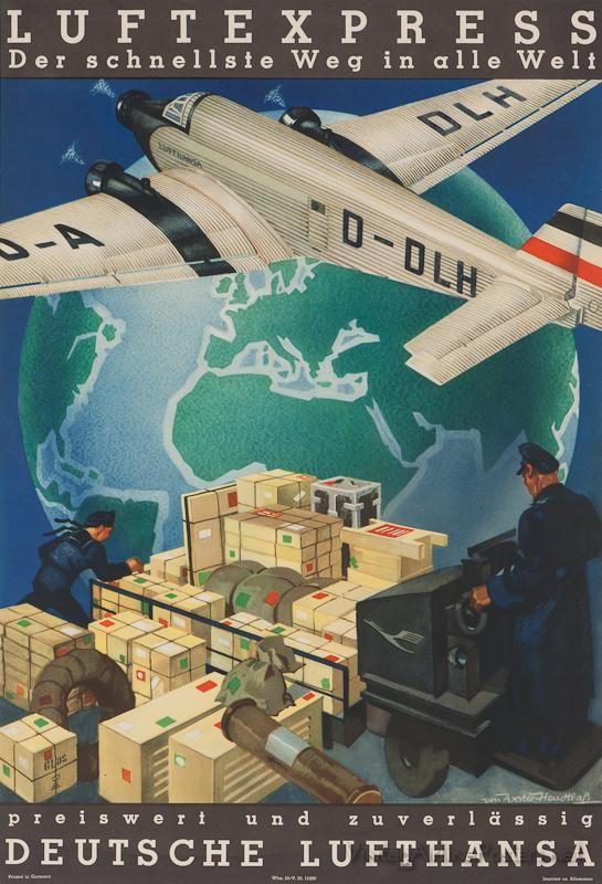 Lufthansa: Luftexpress – Der schnellste Weg in alle Welt,1930s